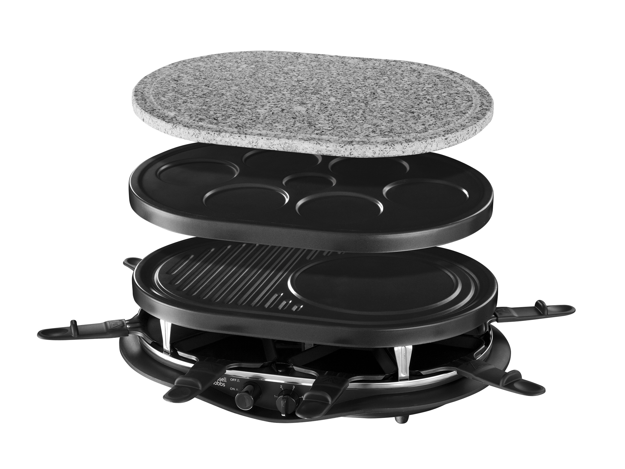 russell hobbs raclette fiesta 21000 56. Black Bedroom Furniture Sets. Home Design Ideas