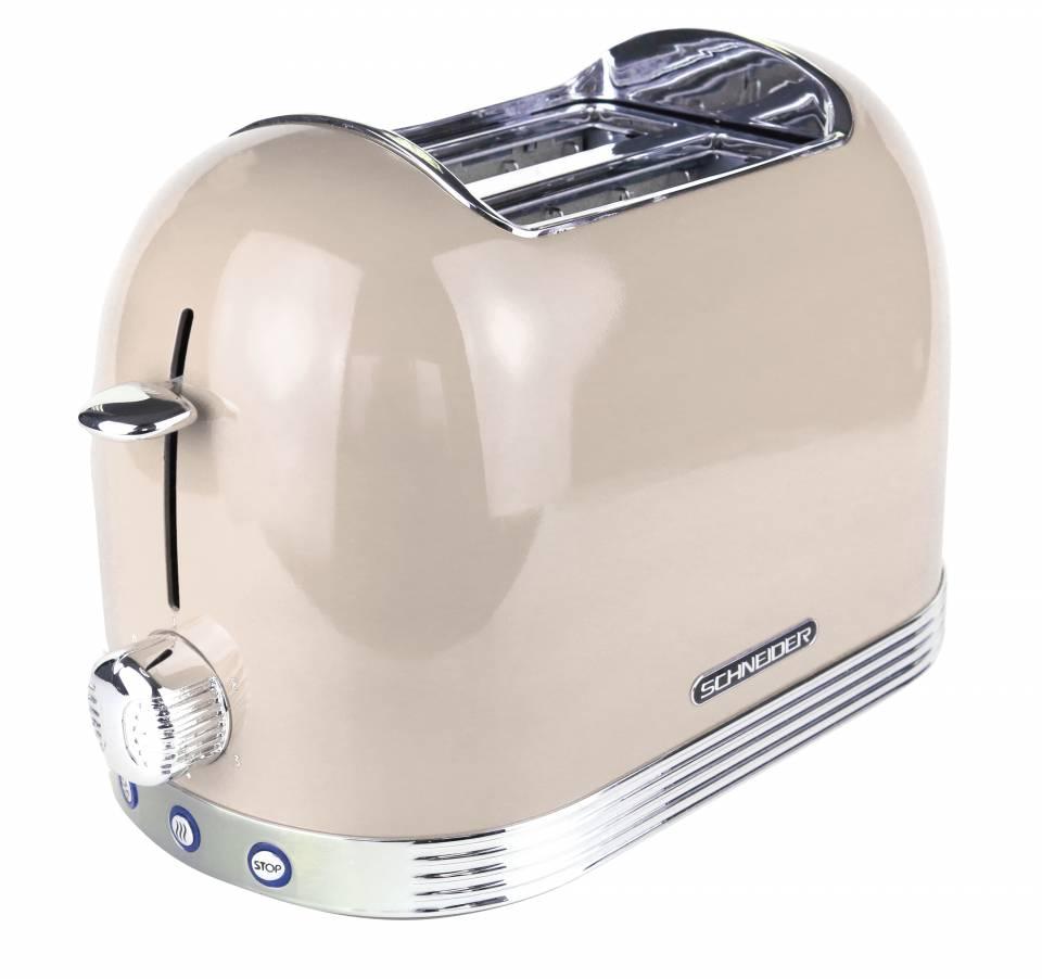 Schneider Toaster SL T2.2 im Retro Design.