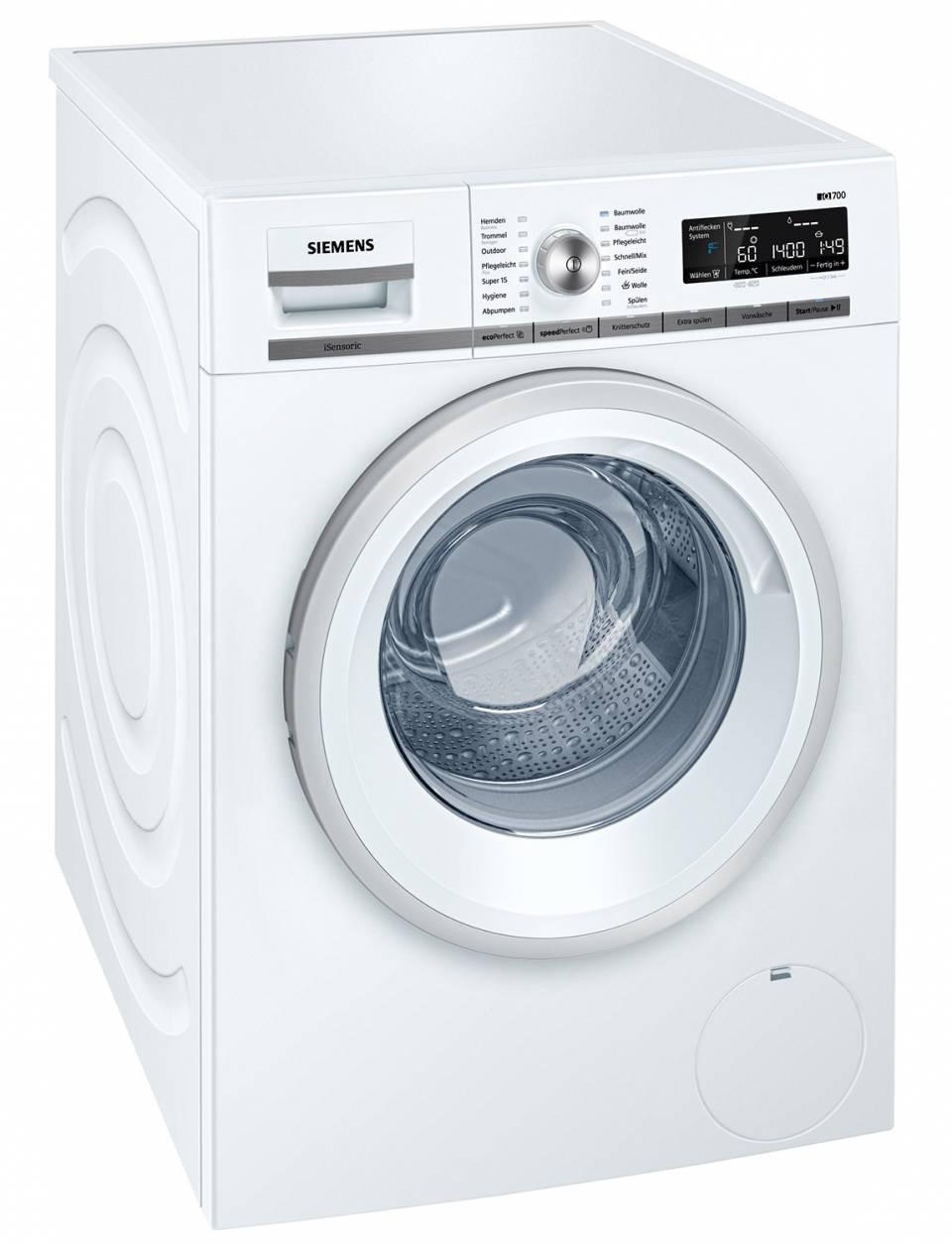 Top-Gerät für die Wäschepflege: Siemens WM14W570.