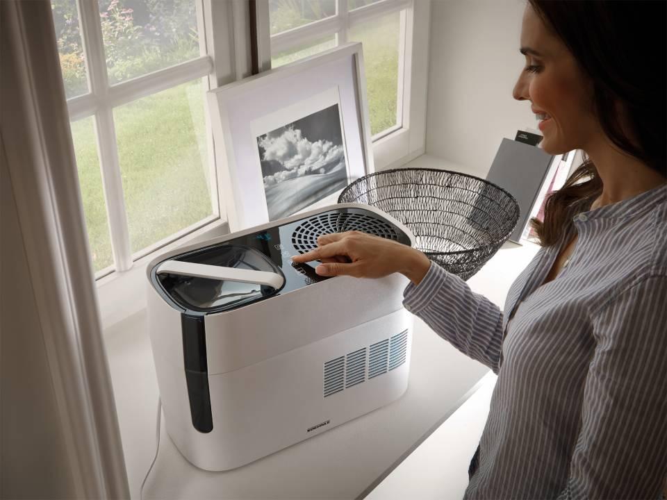 Soehnle Luftbefeuchter Airfresh Hygro 500 mit Evaporation Technology.