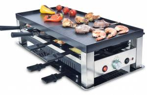 Solis 5in1 Table Grill mit Mini-Wok.