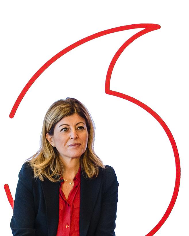 """""""Es gute Gründe, optimistisch in die Zukunft zu blicken"""", Serpil Timuray, Vodafone Group Chief Commercial Operations und Strategy Officer."""