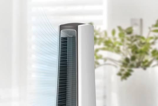 Unold Ventilator Senza mit Ionen-Funktion.