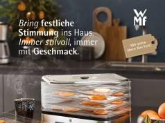 Stilvoll geht es für die WMF ins Weihnachtsgeschäft.