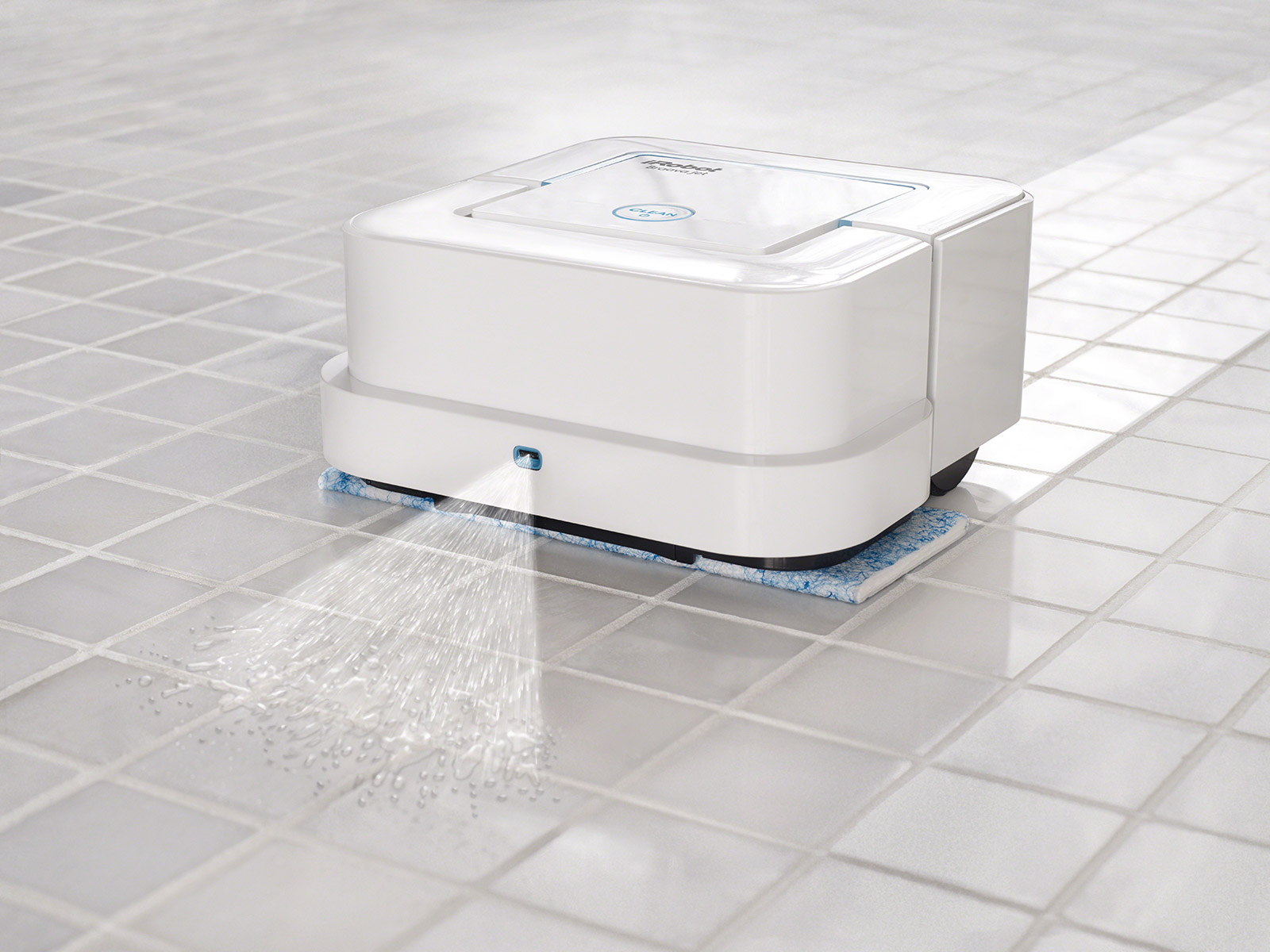 Vereint drei Reinigungsmodi in einem Gerät: Der iRobot Braava jet.