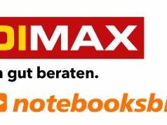 Logos Medimax und notebooksbilliger.de
