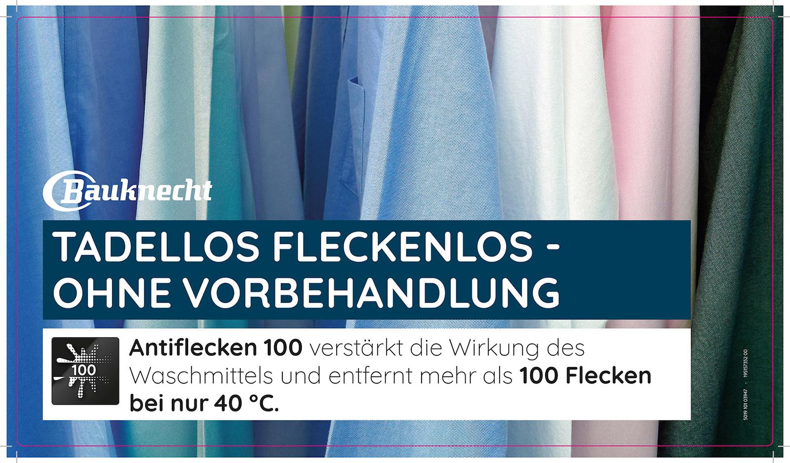 Die Fachhandelspartner unterstützt Bauknecht mit aufmerksamkeitsstarken PoS-Materialien.
