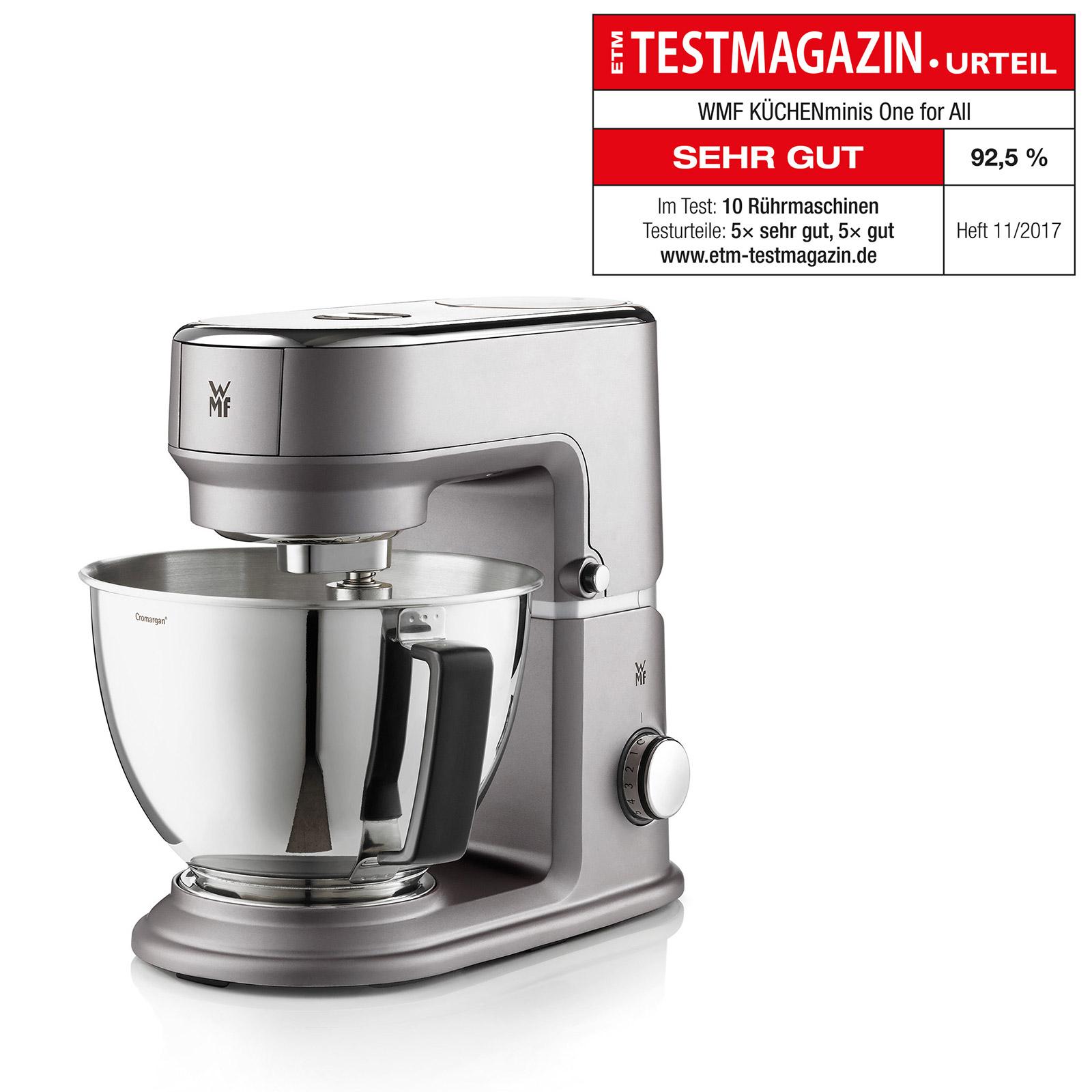 WMF: Küchenmaschine und Stabmixer mit Bestnote bei ETM
