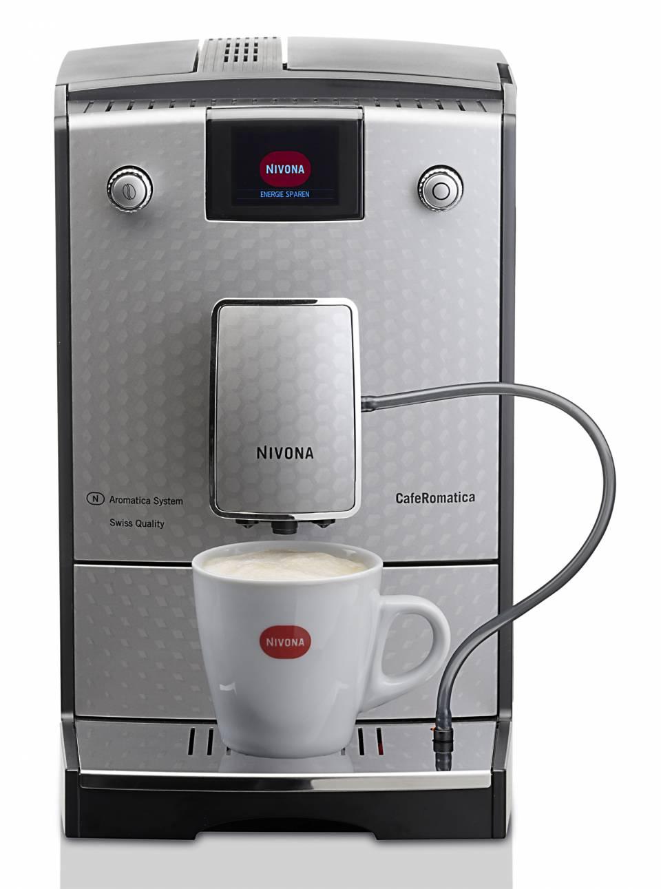 Nivona Kaffeevollautomat 768 mit Aroma Balance System.