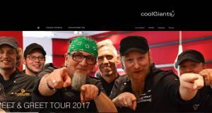 coolGiants Tour 2017