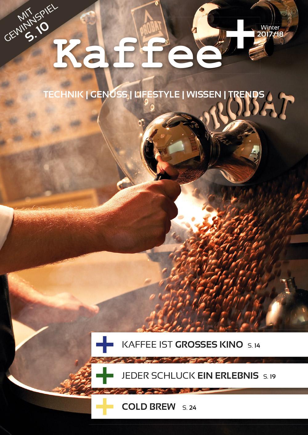 Kaffeemagazin Kaffee+ Titel