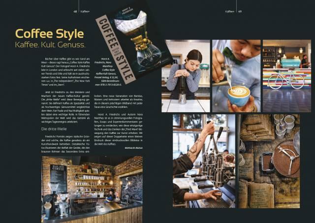 Kaffeemagazin Kaffee+ Coffee Style
