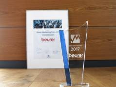 Der Ulmer Marketing Preis 2017 geht an Beurer.