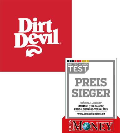 Dirt Devil Preissieger Silber Focus Money