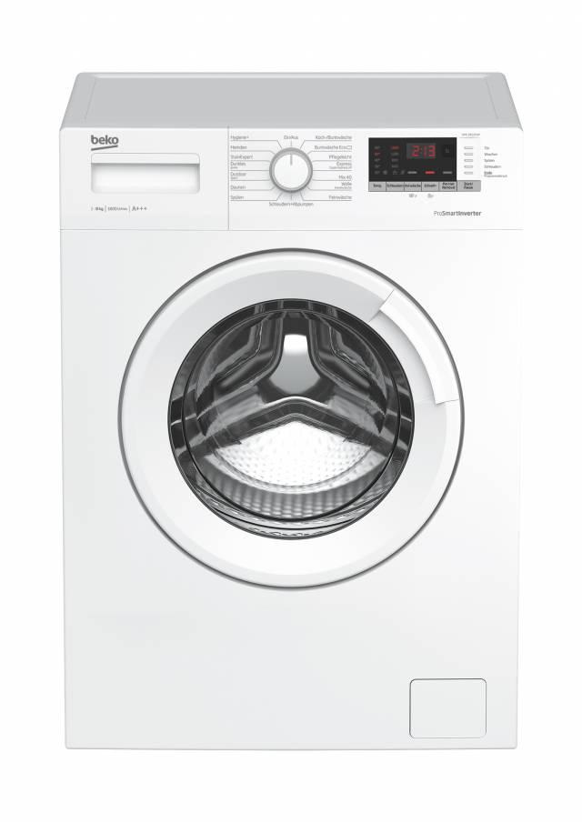 Beko Waschmaschine WML 81633 NP mit 8 kg Füllmenge.
