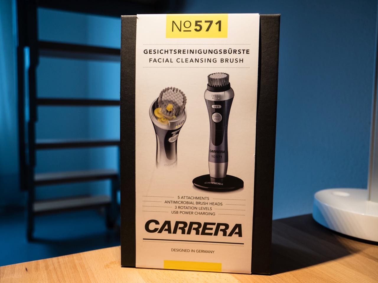 Carrera - elektrische Gesichtsreinigungsbürste