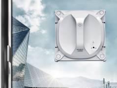 Ecovacs Saugroboter Winbot X für Fensterreinigung.