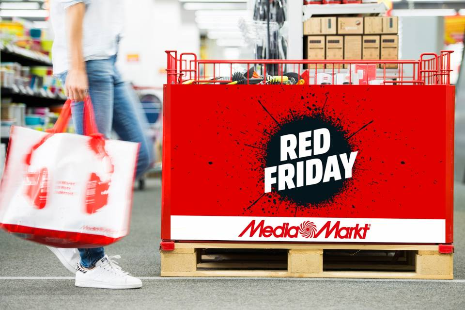 Red Friday im Media Markt