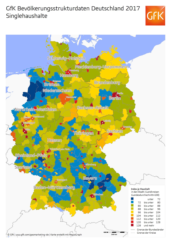 Deutschland singlehaushalte