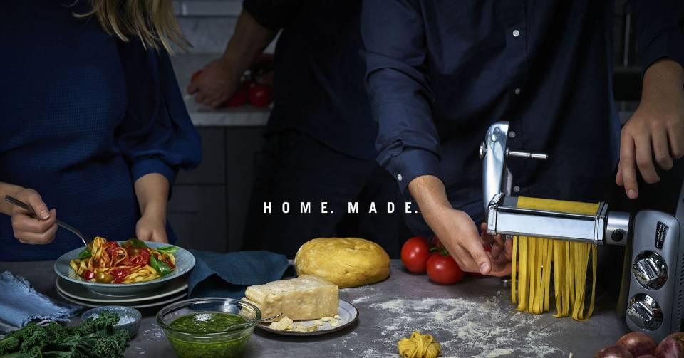 Die beste Pasta gibt es dank Ankarsrum nicht beim Italiener um die Ecke, sondern daheim!
