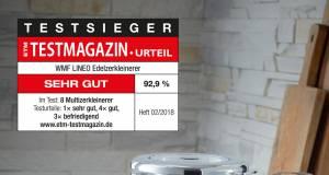 """Testsieg bei ETM für den """"Lineo Edelzerkleinerer"""" von WMF."""