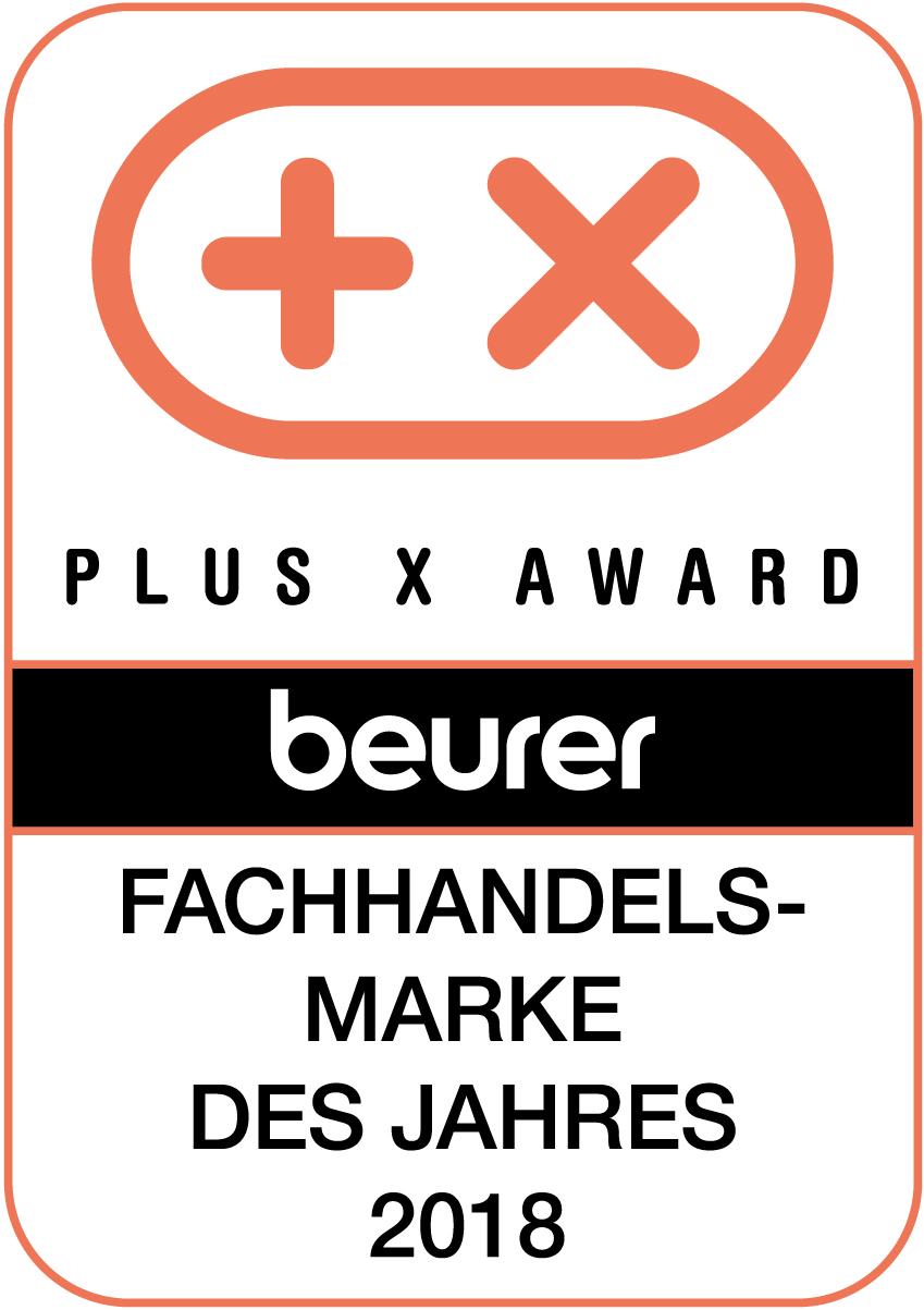 Plus X Award 2018 Beurer Fachhandelsmarke des Jahres