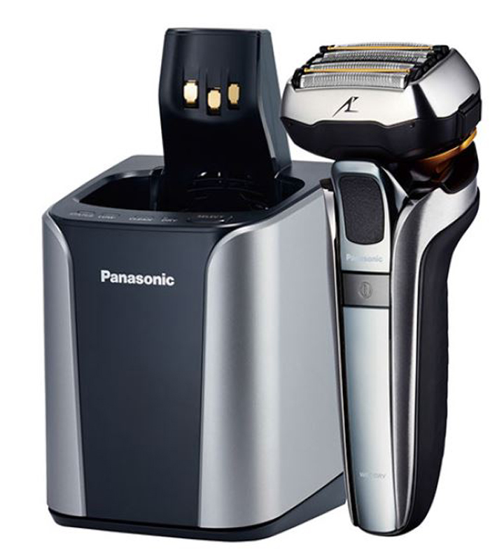 <h1>Panasonic Rasierer ES-LV9Q mit Bartdichten-Sensor</h1><h3 style='font-size: 20px; margin: 0px 0px 15px 0px;'> -Smart-Lock-Sensor, Multi-Flex 5D-Scherkopf</h3>