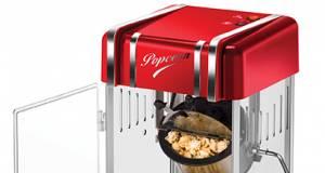 Katapultiert uns zurück in die 50er Jahre: Popcornmaker Retro von Unold.