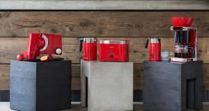 """Die """"Rote Serie"""" von Graef umfasst fünf Geräte, die durchdachte Technik mit perfekter Form verbinden."""