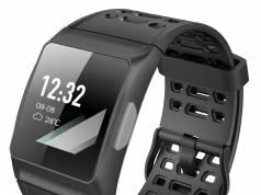 newgen medicals GPS-Sportuhr SW-250.hr misst u.a. Trainings-Aktivitäten sowie den Puls.