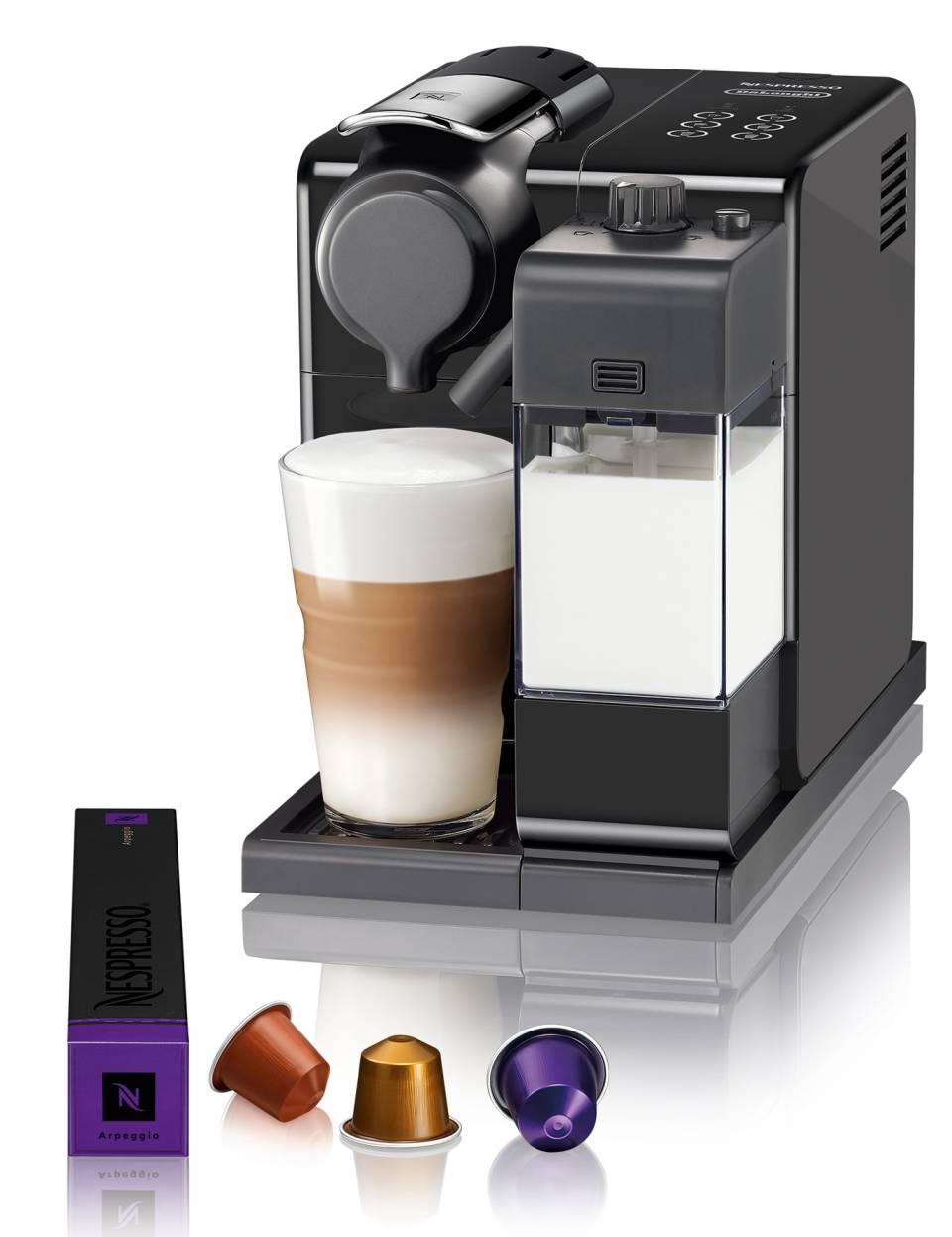 De'Longhi Kaffeemaschine Lattissima Touch mit Direktwahltasten.
