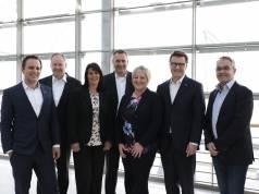 Der neue Euronics Aufsichtsrat (v.l.n.r.): Jan Pankrath, Martin Zilligers, Sabine Bauer, Doris Werle, Frank Schipper und Torsten Roters.