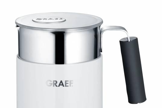 Graef Milchaufschäumer MS 700 mit Kalt- und Warmstufe.
