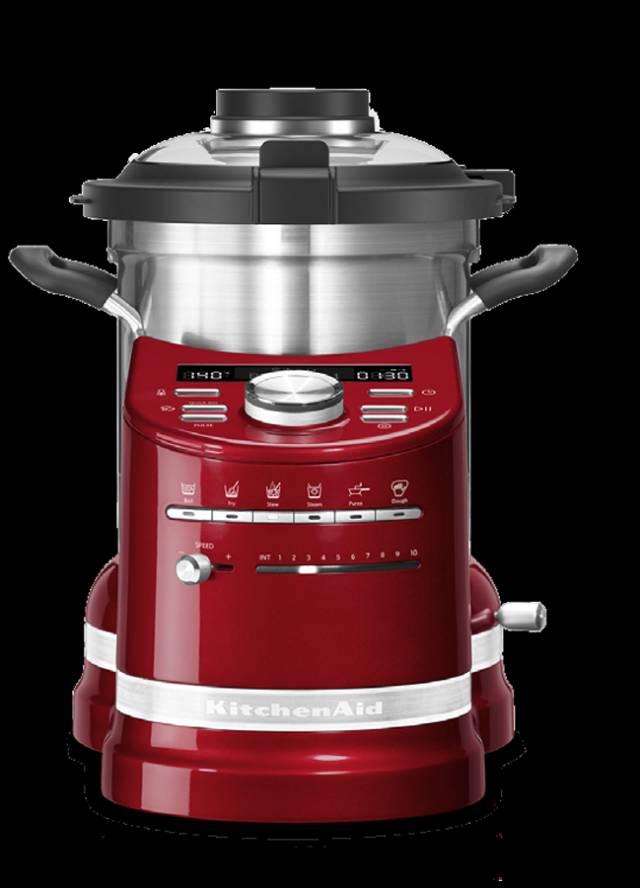 KitchenAid Cook Processor Artisan 5KCF0104 mit 6 automatische Kochmodi.