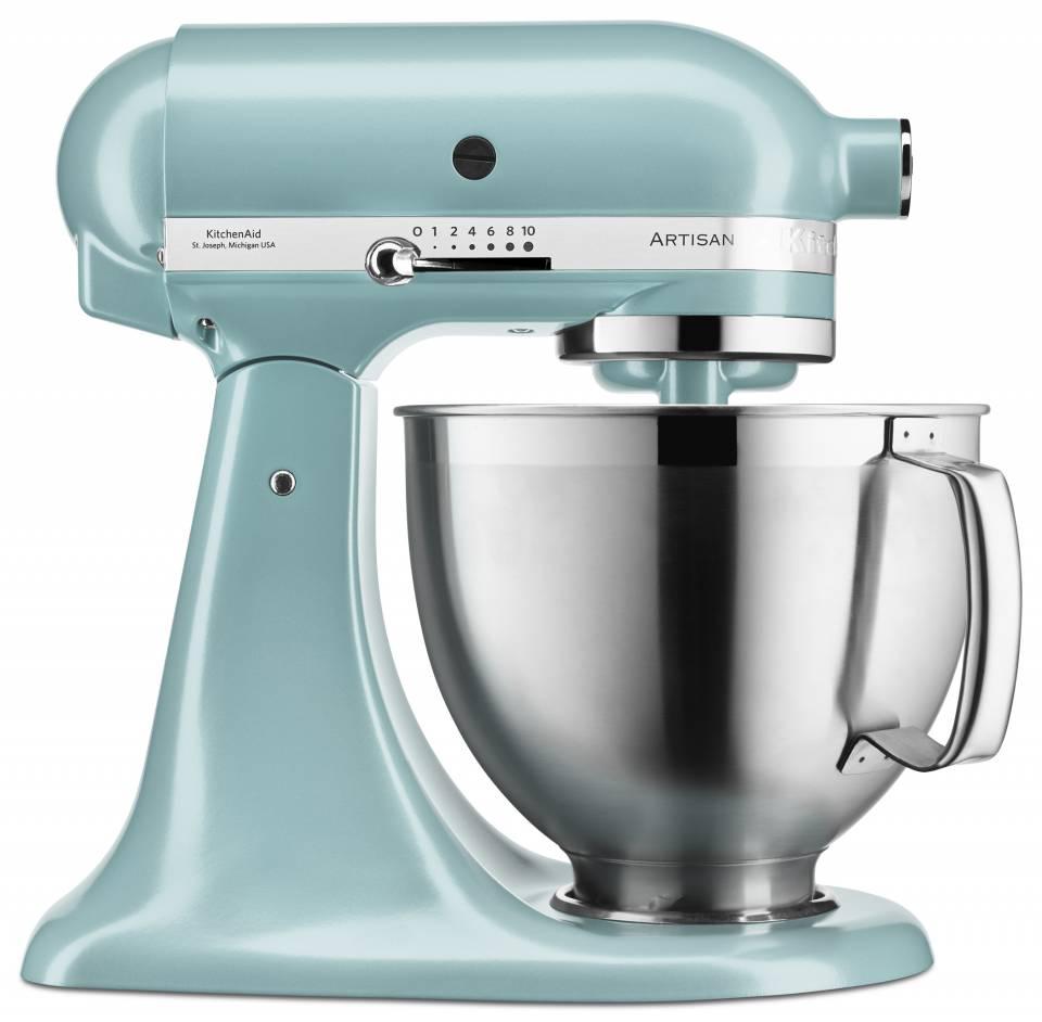 KitchenAid Küchenmaschine Artisan 5KSM185 mit 4,8 Liter Fassungsvermögen.
