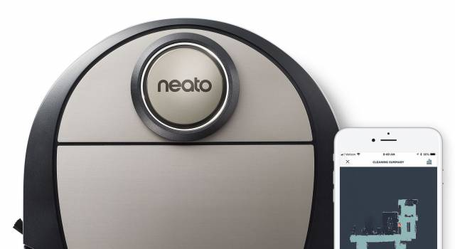 Neato Staubsauger Roboter Botvac D7 Connected mit FloorPlanner-Technik