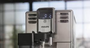 Philips Kaffeevollautomat 5000 mit Scheibenmahlwerk aus Keramik.