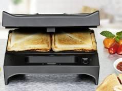 Rommelsbacher Toast & Grill SWG 700 kann toasten und grillen.