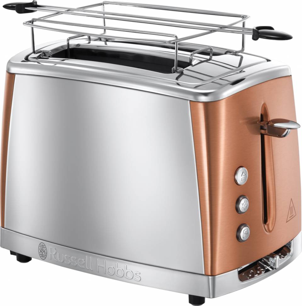 Russell Hobbs Toaster Luna Copper Accents 24290-56