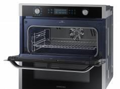 Samsung Backofen Dual Cook Flex NV7000 mit teilbarem Garraum.