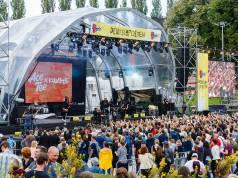 Festivalstimmung 2017 im Sommergarten