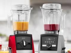 Vitamix Mixer Ascent mit Automatik-Programmen.