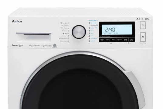 Amica Waschmaschine DreamWash WA 484 100 W mit 16 Programmen.