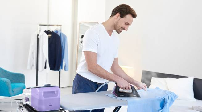 Erfolgreich im Online-Handel: das Thema Bügeln mit der Marke Braun.