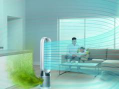 Der Pure Cool Luftreiniger von Dyson geht das Problem der Luftverschmutzung in Räumen wirkungsvoll an.