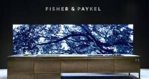 Erstmals auf der Messe EuroCucina präsent: Fisher & Paykel.