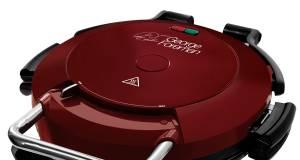 George Foremann Fitnessgrill Grill Entertaining 360° - auch für Pizza oder Snacks geeignet.