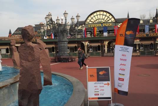 Die HEPT startete am 9. April im Europapark Rust nahe Freiburg.