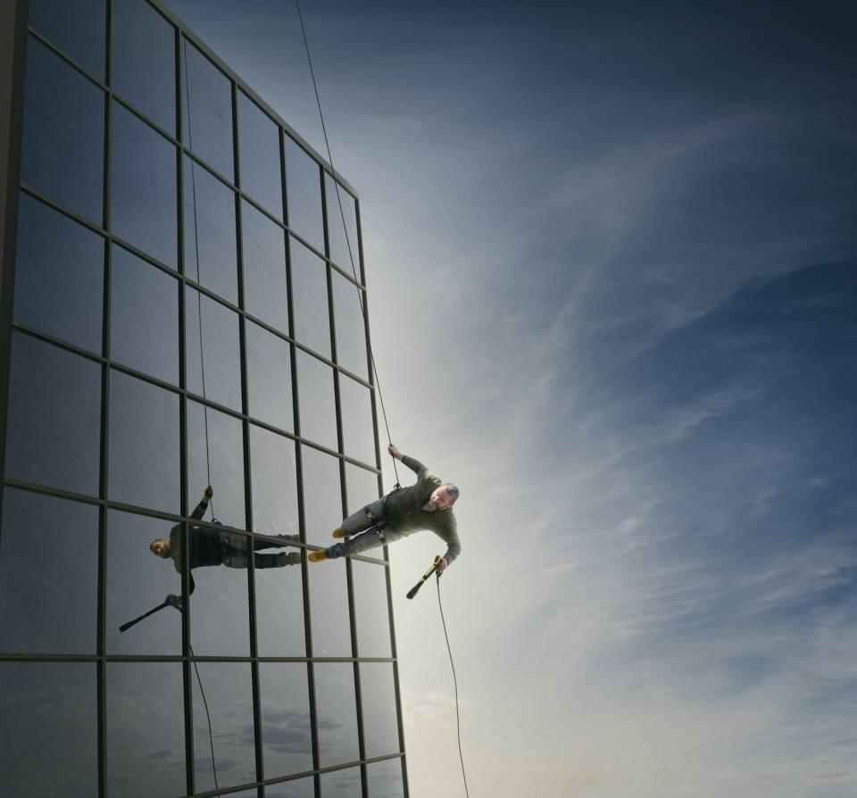 """Unmögliches möglich machen mit der Kärcher """"Mission: Impossible""""."""