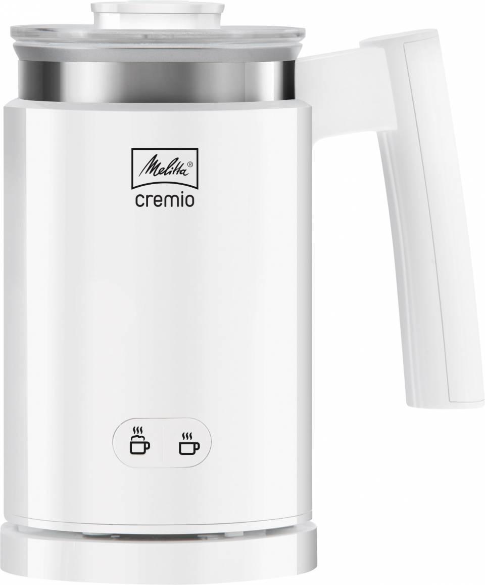 Mit dem Melitta Cremio Hot & Cold funktioniert das Aufschäumen von kalter und warmer Milch denkbar einfach.